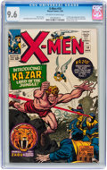 Silver Age (1956-1969):Superhero, X-Men #10 (Marvel, 1965) CGC NM+ 9.6 Off-white to white pages....