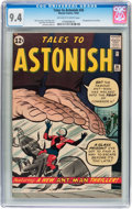 Silver Age (1956-1969):Superhero, Tales to Astonish #36 (Marvel, 1962) CGC NM 9.4 Off-white to white pages....