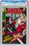 Bronze Age (1970-1979):Superhero, The Amazing Spider-Man #101 Suscha News pedigree (Marvel, 1971) CGCNM/MT 9.8 White pages....