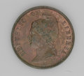 Liberia: , Liberia: Republic - Trio of Copper Pattern Cents 1868-E, KM-Pn15,all three are brown Proof, one with light reverse stains. Soldas... (Total: 3 coins Item)
