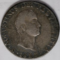 Mexico: , Mexico: A varied trio as follows: Iturbide 8 Reales 1823, KM310, VFdetails with rim bumps; Maximilian Peso 1866 Mo, VF with a small...(Total: 3 Coins Item)