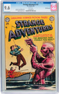 Golden Age (1938-1955):Science Fiction, Strange Adventures #21 White Mountain pedigree (DC, 1952) CGC NM+9.6 White pages....