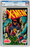 Silver Age (1956-1969):Superhero, X-Men #57 (Marvel, 1969) CGC NM+ 9.6 White pages....