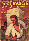 Pulps:Hero, Doc Savage First Issue - Canadian Edition (Street & Smith, 1933) Condition: GD/VG....
