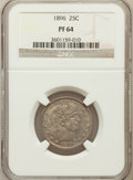Proof Barber Quarters, 1896 25C PR64 NGC....