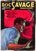 Pulps:Hero, Doc Savage - August '33 (Street & Smith, 1933) Condition: FN-....