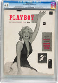Magazines:Miscellaneous, Playboy #1 (HMH Publishing, 1953) CGC FN+ 6.5 White pages....