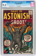 Silver Age (1956-1969):Science Fiction, Tales to Astonish #13 (Marvel, 1960) CGC NM- 9.2 Off-white to whitepages....