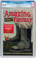 Silver Age (1956-1969):Science Fiction, Amazing Adult Fantasy #14 (Marvel, 1962) CGC VF/NM 9.0 Off-white to white pages....