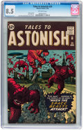 Silver Age (1956-1969):Science Fiction, Tales to Astonish #29 (Marvel, 1962) CGC VF+ 8.5 Off-whitepages....