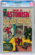 Silver Age (1956-1969):Superhero, Tales to Astonish #45 (Marvel, 1963) CGC NM 9.4 Off-white to whitepages....