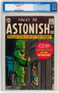 Tales to Astonish #34 (Marvel, 1962) CGC VF/NM 9.0 White pages