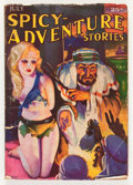 Pulps:Adventure, Spicy Adventure Stories - July '35 (Culture, 1935) Condition: VG-....