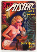 Pulps:Horror, Spicy Mystery Stories - May '36 (Culture, 1936) Condition: VG-....