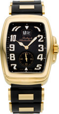 Timepieces:Wristwatch, Dubey & Schaldenbrand Aquadyn Big Date 18k Rose Gold Wristwatch. ...