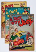 Golden Age (1938-1955):Romance, A Date With Judy Group (DC, 1953-60) Condition: Average GD/VG....(Total: 23 Comic Books)