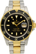 Timepieces:Wristwatch, Rolex Ref. 16803 Two Tone Submariner, circa 1984. ...