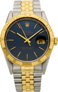 Timepieces:Wristwatch, Rolex Ref. 16200 Two Tone Thunderbird, circa 1990. ...
