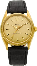 Timepieces:Wristwatch, Rolex Ref. 6565 Gold Oyster Perpetual, circa 1950's. ...