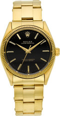 Timepieces:Wristwatch, Rolex Ref. 1005 Gold Oyster Perpetual, circa 1950's. ...