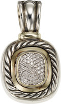 Estate Jewelry:Pendants and Lockets, Diamond, Sterling Silver, Gold Pendant, David Yurman. ...