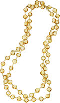 Estate Jewelry:Necklaces, Citrine, Gold Necklace. ...
