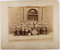 Books:Photography, [Photograph]. Geo. M. Brotz. A Photograph of the Third Brigade Band, Pottsville, Pa. [ca. 1880's, though possibly a bit late...