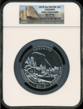 Modern Bullion Coins, 2010 25C Yosemite Five-Ounce Silver, Early Releases MS69 ProoflikeNGC. NGC Census: (1352/0). PCGS Population (1808/0). T...