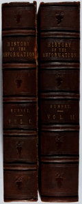 Books:World History, Gilbert Burnet. The History of the Reformation of the Church ofEngland. Chiswell, 1679, 1681. First editions. T... (Total: 2Items)