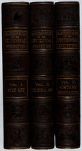 Books:Americana & American History, [Centennial International Exhibition]. The Masterpieces of theCentennial International Exhibition. Gebbie & Barrie,...(Total: 3 Items)