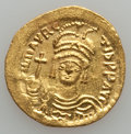 Ancients:Byzantine, Ancients: Maurice Tiberius (AD 582-602). AV solidus (4.49 gm)....