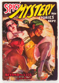 Pulps:Horror, Spicy Mystery Stories - September '36 (Culture, 1936) Condition:VG-....