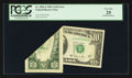 Error Notes:Foldovers, Fr. 2026-J $10 1981A Federal Reserve Note. PCGS Very Fine 25.. ...