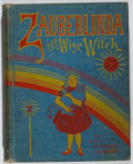 Books:Children's Books, Eva Katharine Gibson. Zauberlinda, the Wise Witch. Smith,1901. Cloth rubbed with toning to spine. Hinges broken. Bi...