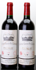 Red Bordeaux, Chateau Grand Puy Lacoste 1996 . Pauillac. 2wisl. Bottle(2). ... (Total: 2 Btls. )