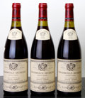 Red Burgundy, Chambolle Musigny 1990 . L. Jadot . 2sos. Bottle (3). ...(Total: 3 Btls. )