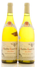 White Burgundy, Chablis 1991 . Les Clos, Dauvissat . Bottle (2). ... (Total: 2 Btls. )