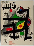 Books:Art & Architecture, Joan Miro. Indelible Miro. Tudor, [1972]. First American edition. With two original lithographs. Fol...