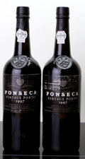 Port/Madeira/Misc Dessert, Fonseca Vintage Port 1997 . Bottle (2). ... (Total: 2 Btls. )