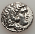 Ancients:Greek, Ancients: MACEDONIAN KINGDOM. Alexander III the Great (336-323 BC).  AR tetradrachm (17.08 gm)....