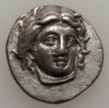 Ancients:Greek, Ancients: CARIAN ISLANDS. Rhodes. Ca. 340-316 BC. AR didrachm(21mm, 6.89 gm, 12h). ...