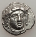 Ancients:Greek, Ancients: CARIAN ISLANDS. Rhodes. Ca. 340-316 BC. AR didrachm(21mm, 6.84 gm, 12h). ...