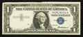 Error Notes:Foldovers, Fr. 1619 $1 1957 Silver Certificate. Very Fine-Extremely Fine.. ...