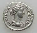 Ancients:Ancient Lots  , Ancients: ROMAN EMPIRE. Crispina and Lucilla. Lot of 2 ARdenarii.... (Total: 2 coins)