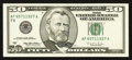 Error Notes:Ink Smears, Fr. 2126-F $50 1996 Federal Reserve Note. Crisp Uncirculated.. ...