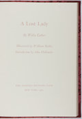 Books:Fine Press & Book Arts, [Limited Editions Club]. SIGNED LIMITED EDITION. Willa Cather. ALost Lady. LEC, 1983. One of 1,500 copies signed ...
