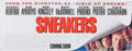 "Memorabilia:Movie-Related, ""Sneakers"" Promotional Banner (Universal, 1992)...."