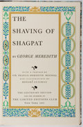 Books:Fine Press & Book Arts, [Limited Editions Club]. SIGNED LIMITED EDITION. George Meredith.The Shaving of Shagpat. LEC, 1955. One of 1,...
