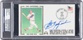 Baseball Collectibles:Others, Carl Yastrzemski Signed First Day Cover....
