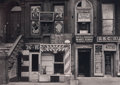 Photographs:20th Century, AARON SISKIND (American, 1903-1991). Harlem Facades, 1938.Gelatin silver, printed later. 8-1/2 x 12 inches (21.6 x 30.5...